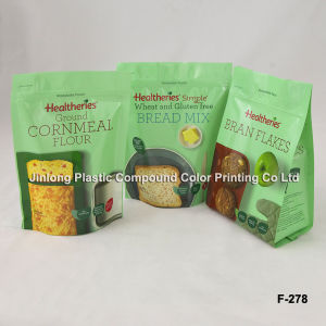 Stand up Food Packaging Bag with Zipper pictures & photos