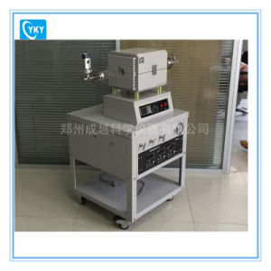 Mini Solar CVD Tube Furnace with Gas Mixer and Vacuum Gauge pictures & photos