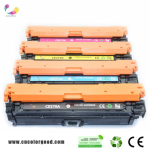 100% Original Color Toner Cartridge Ce270A/271A/272A/273A (650A) for HP Laserjet Cp5525 pictures & photos
