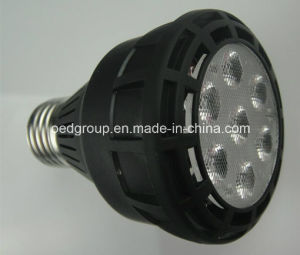 Osram LED Chip E26/E27 PAR20 LED Lamps Black Aluminum 25W LED Spotlight pictures & photos