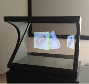 3D Holographic Transparent Screen for Projector pictures & photos