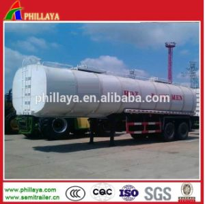 Large Volume Asphalt Tanker Trailer for Heating Bitumen Transport pictures & photos