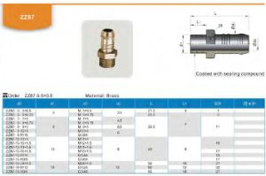 Special Offer Mold Adapter Mold Assembly Brass Extension Nipple pictures & photos