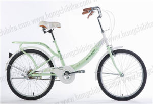 "16"" Alloy Frame City Bike with Rear Carrier for Lady (HC-TSL-LB-29540) pictures & photos"