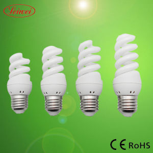 T3 7W, 9W, 11W, 13W Mini Full Spiral Energy Saving Light, Lamp pictures & photos