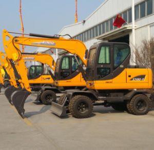 Ce Approved Hydraulic Wheel Excavator Xn80-9 of 6ton 8ton 10ton 12ton 15ton pictures & photos