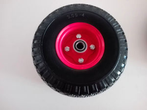 High Quality 10X3.5-4 Pneumatic Rubber Wheel pictures & photos