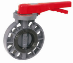 Hot Quality Butterfly Valve, Handle Type (PVC Valves) pictures & photos