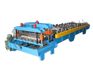 Single Press Mold Steel Tile Forming Machine pictures & photos