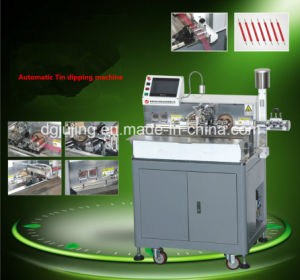 Automatic Cable Tin Dipping Machine pictures & photos