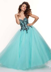 Turquoise Ball Gowns Long Formal Evening Dresses (ED3046) pictures & photos
