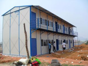 Steel Structure Prefabricated Labor Camp House pictures & photos