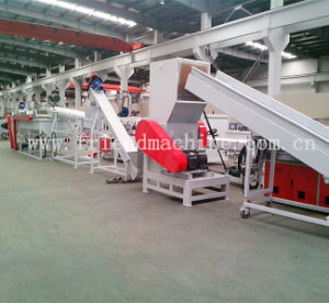 Pet Plastic Bottle Washing Line / Flakes Recycling Production Machine pictures & photos