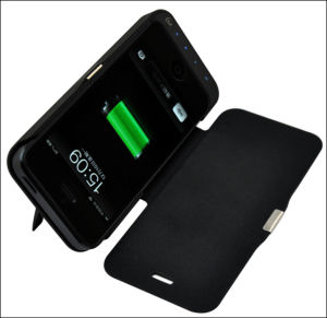 New Leather Battery Case & Charger for iPhone 5, 5c, 5s pictures & photos