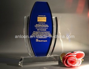 Crystal Trophy & Award