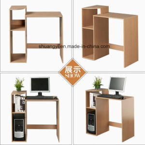 Wholesaler Cheap Simple Design Panel Wood Computer Desk/ Office Computer Table pictures & photos