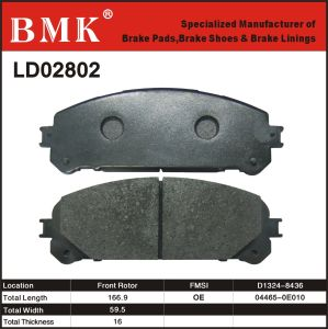 Adanced Quality Brake Pad (LD02802) pictures & photos