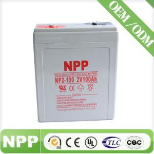 Valve Lead Acid Solar Inverter Battery (2V100ah)