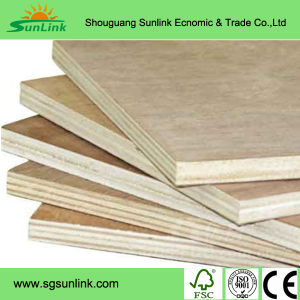 E1 Glue Melamine MDF Board for Indoor Decoration From Chengxinwood pictures & photos