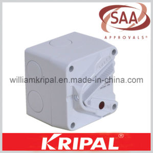 SAA IP66 20A 1 Pole Mini Isolator Switch pictures & photos