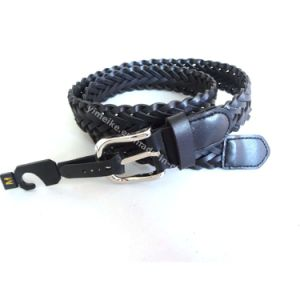 Fashion Manual Braid Leather Belt for Lady pictures & photos