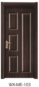 Low Price Excellent Quality Hotsale Melamine Door (WX-ME-103) pictures & photos