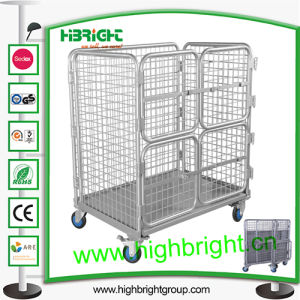 Heavy Duty Collapsible Roll Cage Container pictures & photos