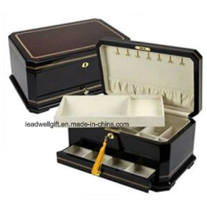 High Lacquer Mahogany Finished Jewelry Box/Case Gift Box pictures & photos