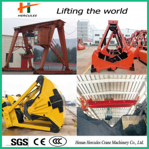 Clamshell Bucket Grab Crane for Bulk Material pictures & photos