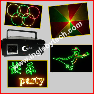 500mw RGY Animation Gobo Laser Light Entertainment Light