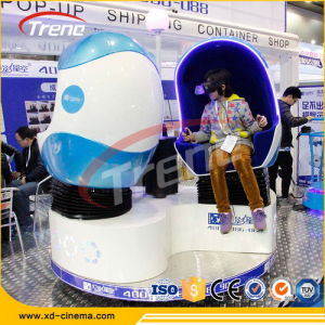 Zhuoyuan 360 Degree 3 Seats Egg 9d Simulator Cinema Virtual Reality Game Machine pictures & photos