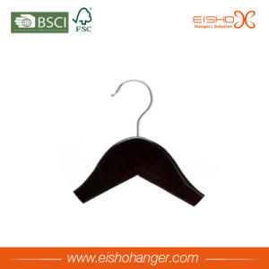 Low Price Black Custom Wooden Suit Hangers (3FHL0006) pictures & photos