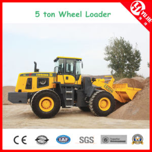 6 Ton Large Wheel Loader Used for Construcion Site (6000kg) pictures & photos