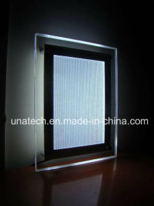New Design Wall Mounted Acrylic Crystal LED Light Box pictures & photos
