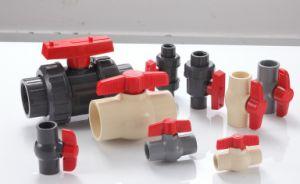 (UPVC, CPVC, PP, PPR/ASTM SCH40, SCH80, D2846, DIN) Plastic Ball Valve pictures & photos