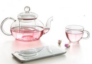 High Borosillicate Glass Tea Pot with Set Tea Kettle pictures & photos