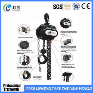 High Quality Lifting Equipment Chain Pully Block pictures & photos