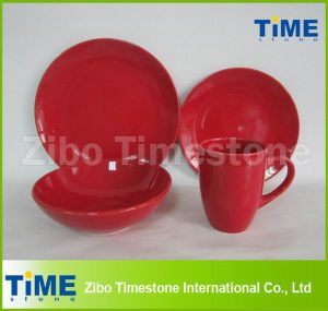 Ceramic Stoneware Luxury Red Dinnerware pictures & photos