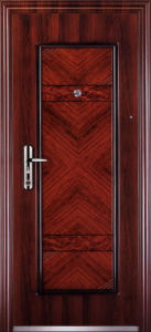 Top Quality Economic Single Steel Doors (EF-S005) pictures & photos