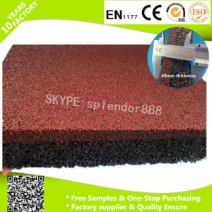 Recycle Rubber for Safety Playground Flooring Mats pictures & photos