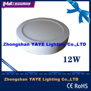 Yaye Competitive Price 12W Round Surface Mounted LED Panel Light with 2/3years Warranty pictures & photos