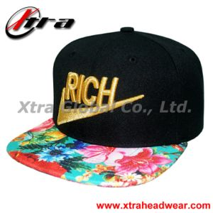 Snap Back Cap with 3D Embroidery (XT-F016) pictures & photos