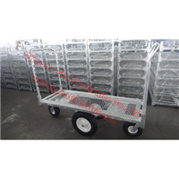 Folding Storage Cart, Garden Dump Cart, Greenhouse Cart, Roll Trolley, Roll Container, , Trolley Cart, Flower Cart, Tool Cart, Tc0360