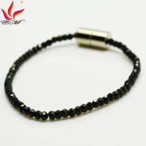 Spb-003 New Fashion Bracelet Black Super Flash Spinel Bracelet pictures & photos