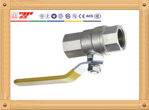 Manual Nickel Plated Brass Ball Valve