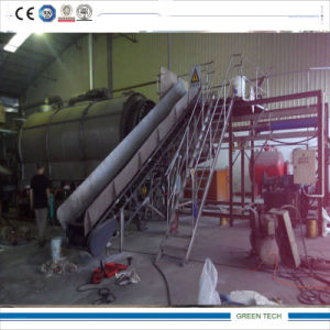Continuous Feeding Batch Type Plastic Pyrolysis Machine pictures & photos