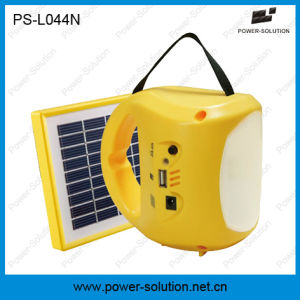 Rechargeable LED Solar Lamp with USB Mobile Phone Charger pictures & photos