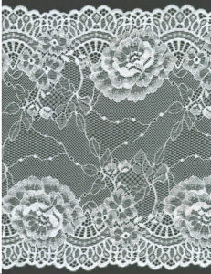 Lace Trim for Lingeries and Garments