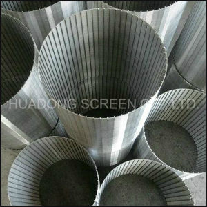 Stainless Steel 304 Reversed Wedge Wire Screen / Water Well Screen / Johnson Screen / Wire Wrapped Screen pictures & photos