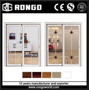 Aluminum Security Sliding French Door pictures & photos